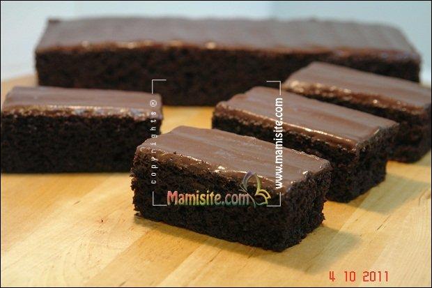 کیک شکلاتی موزی - مامی سایت