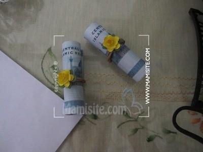 ساخت گیفت مدال تزئین و ساخت پاکت پول/ کارت هدیه /سکه (نمونه کارهای کاربران )