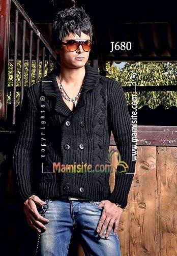 مدل بافتنی مردانه بدون استین مدل بافتنی مردانه ( عکس بدون آموزش ) - صفحه 6