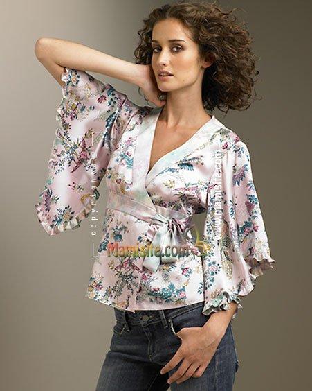 Блузка из сатина своими руками