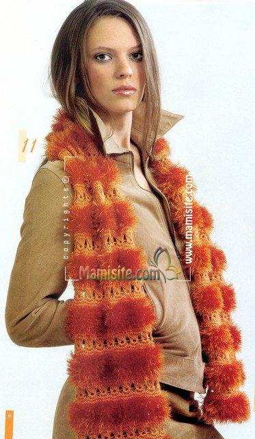 شال گردن مدل یقه