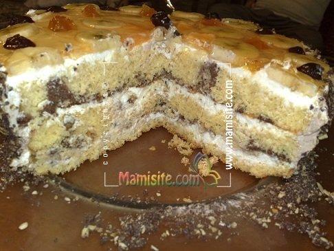 کیک تولد اسفنجی