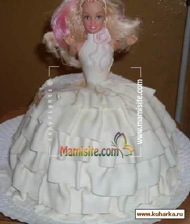 Девочки вот может кого заинтерисует, решила заснять процесс своей работы - волнистую юбку для куклы. раскатав мастику...