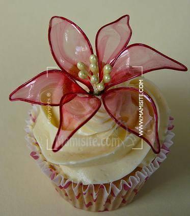 کیک به شکل سبزه عید آموزش ساخت گلهای ژلاتینی برای تزیین کیک
