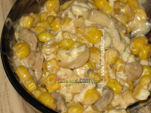 طرز تهیه سس سفید برای ذرت مکزیکی – سایت آشپزی – دستور پخت غذا