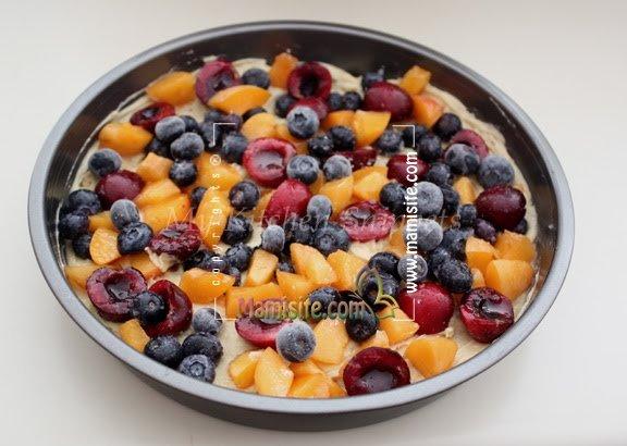کیک میوه ای