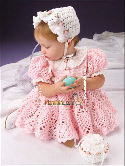 Метки: вязание вязание крючком платье вяжем детям вязание для детей схемы