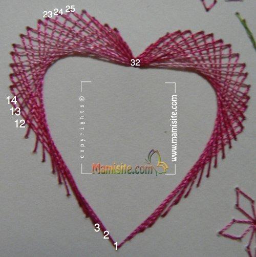 image D107 4D52AC1C آموزش کارت گلدوزی شده روز عشق