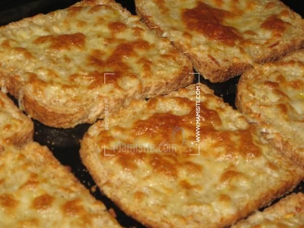 نان سير | بروشتا - بروسکتا ( Bruschetta )